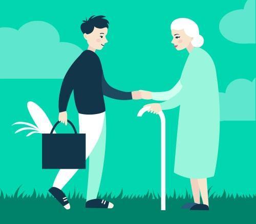 Caregiving class=