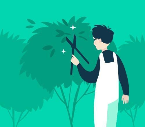 Gardening class=