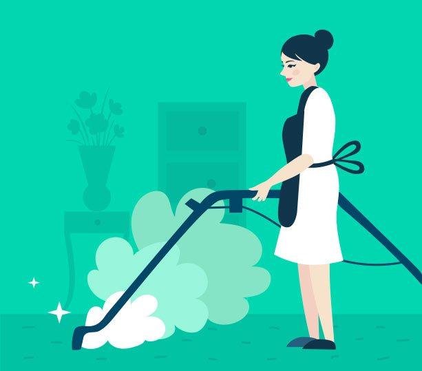 Steam cleaning in Dubai